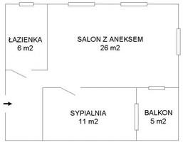 Morizon WP ogłoszenia | Mieszkanie do wynajęcia, Warszawa Śródmieście, 51 m² | 5940