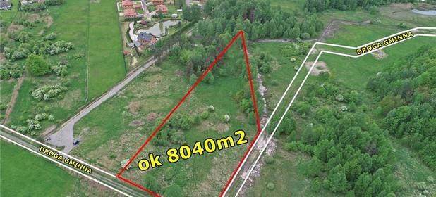 Działka na sprzedaż 8040 m² Czestochowski Poczesna Zawodzie Cicha - zdjęcie 1