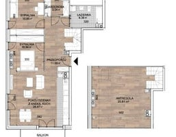 Morizon WP ogłoszenia | Mieszkanie na sprzedaż, Sobótka Piotra Włosta, 97 m² | 0546
