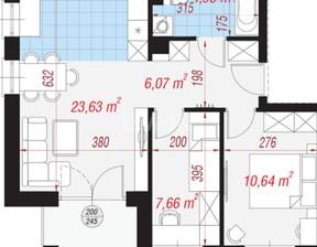 Mieszkanie na sprzedaż, Polkowice Fiołkowa, 53 m²
