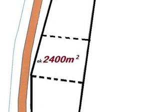Działka na sprzedaż, Marzenin, 2400 m²