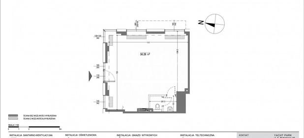 Lokal usługowy do wynajęcia 56 m² Gdynia Śródmieście Arkadiusza Rybickiego - zdjęcie 2