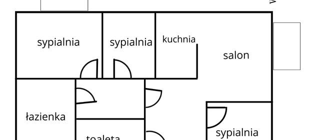 Mieszkanie na sprzedaż 76 m² Gdańsk Ujeścisko-Łostowice Habenda Wielkopolska - zdjęcie 1