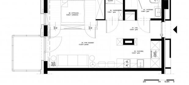 Mieszkanie do wynajęcia 40 m² Warszawa Praga-Północ Okrzei Stefana - zdjęcie 2