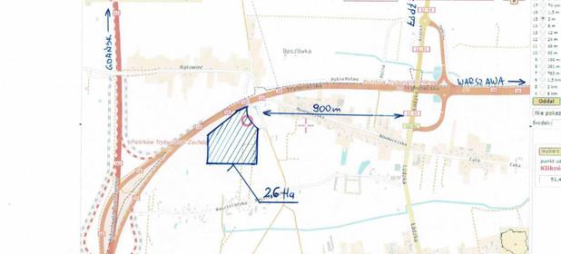 Działka na sprzedaż 26000 m² Piotrków Trybunalski Północ Wiatraczna - zdjęcie 2