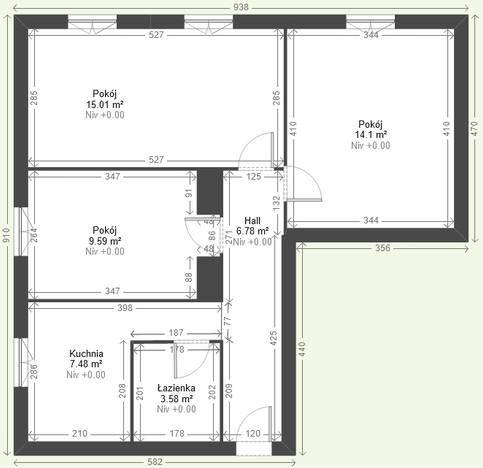 Mieszkanie na sprzedaż, Warszawa Wola, 61 m² | Morizon.pl | 3770