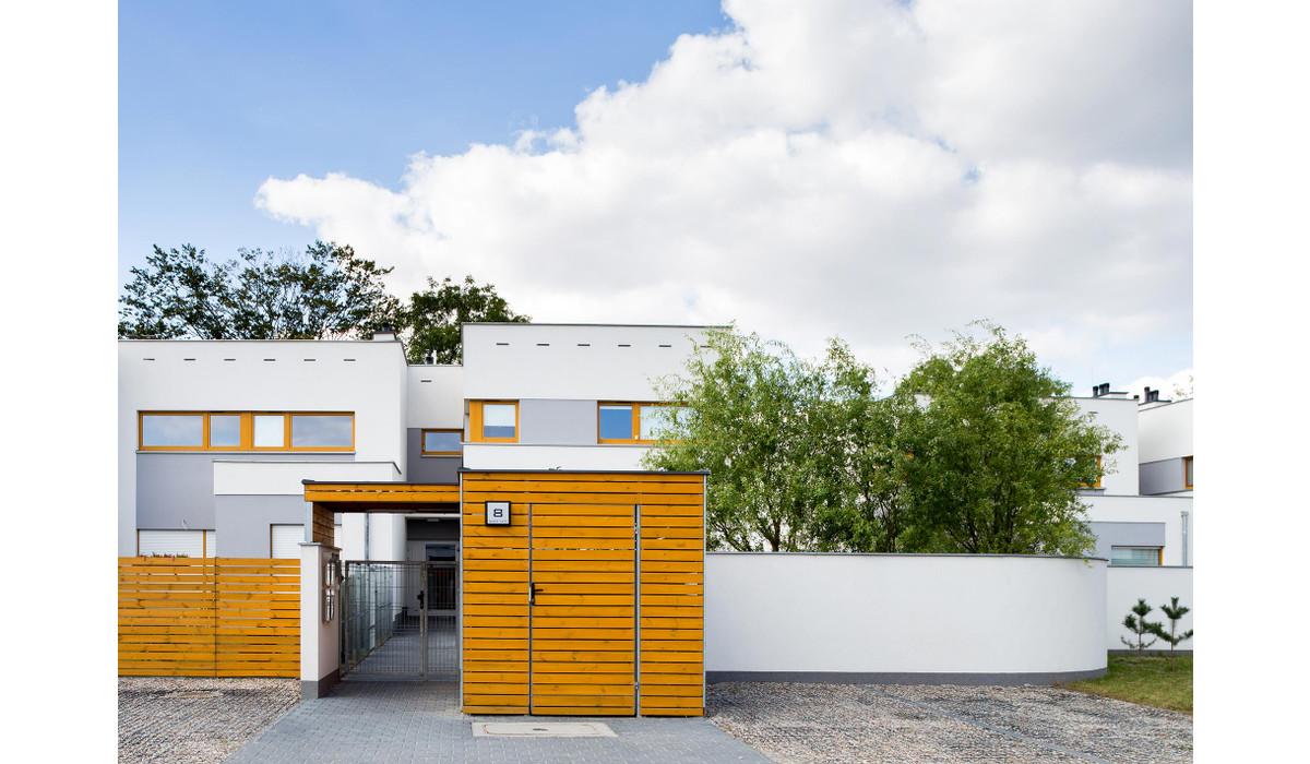 Dom w inwestycji DĄBRÓWKA, LEŚNA POLANA – DOPIEWIEC, Dąbrówka, 75 m² | Morizon.pl | 4626