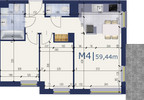 Mieszkanie w inwestycji Apartamenty Messal, Warszawa, 59 m² | Morizon.pl | 4687 nr2