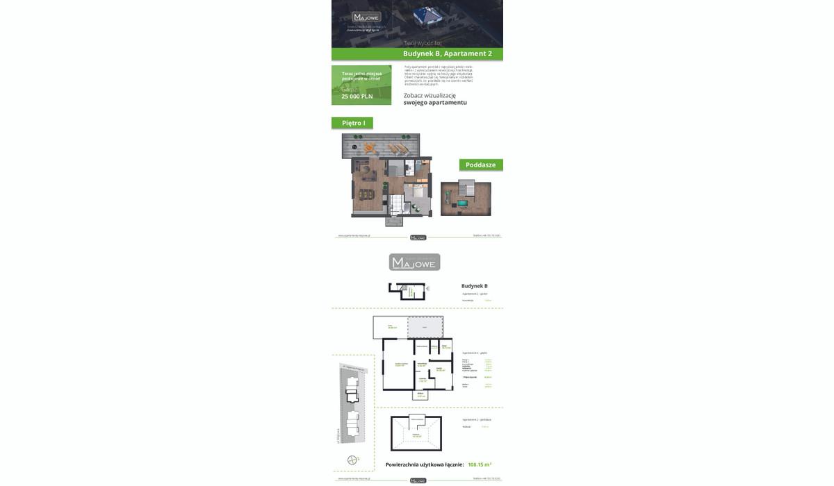Mieszkanie w inwestycji Apartamenty Majowe, Krzeszowice, 108 m²   Morizon.pl   9996