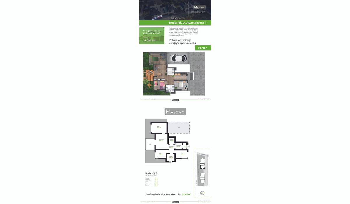 Mieszkanie w inwestycji Apartamenty Majowe, Krzeszowice, 92 m²   Morizon.pl   9999