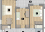 Morizon WP ogłoszenia | Mieszkanie w inwestycji Stawowa Przystań, Kraków, 56 m² | 7896