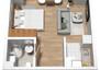 Morizon WP ogłoszenia   Mieszkanie w inwestycji Stawowa Przystań, Kraków, 30 m²   7749
