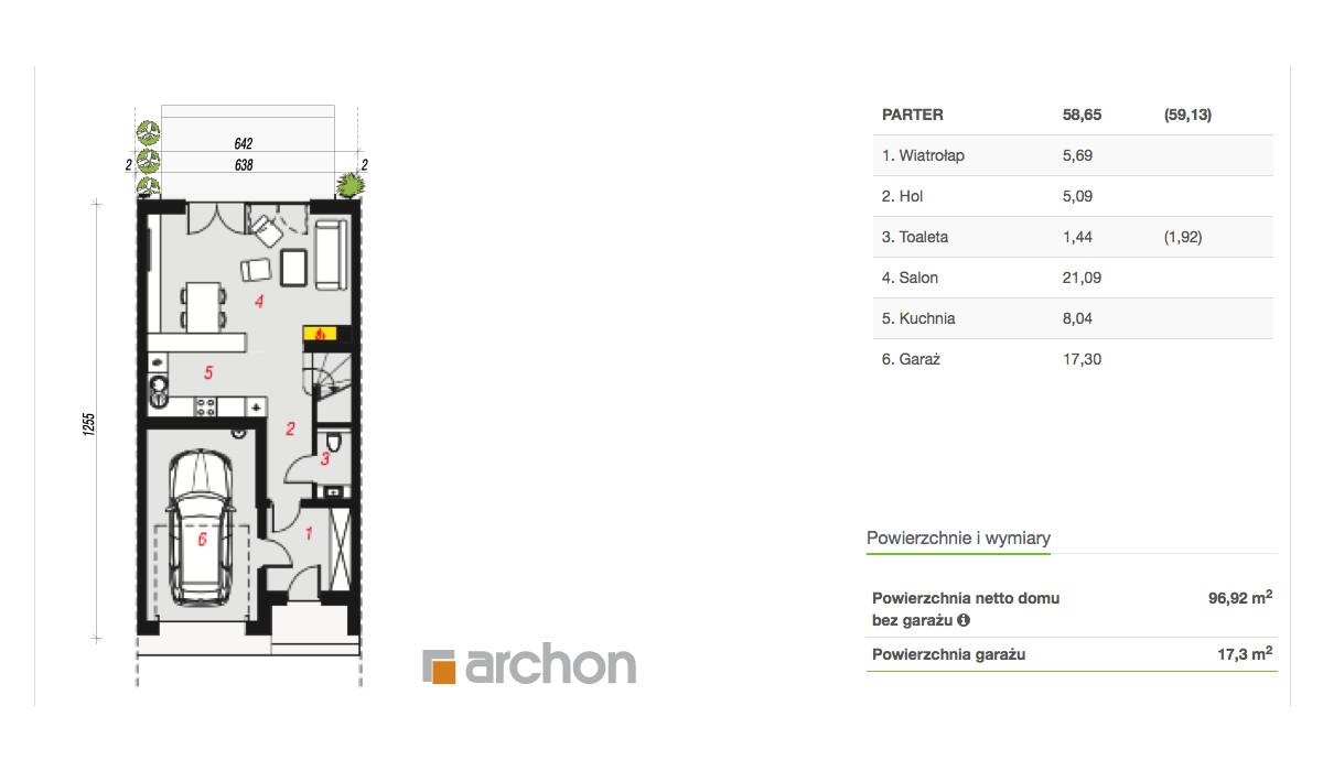 Dom w inwestycji Osiedle Kameralne, Piaseczno, 115 m² | Morizon.pl | 3698