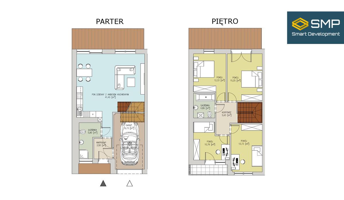 Dom w inwestycji Słoneczne Wzgórze, Gliwice, 130 m²   Morizon.pl   5523