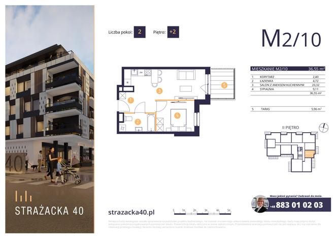 Mieszkanie w inwestycji Strażacka 40, Rzeszów, 37 m²   Morizon.pl   2959