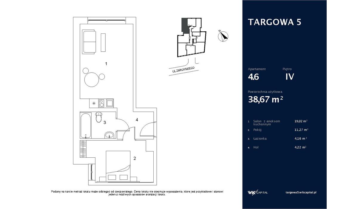 Mieszkanie w inwestycji Tulip Residences, Warszawa, 39 m²   Morizon.pl   0586