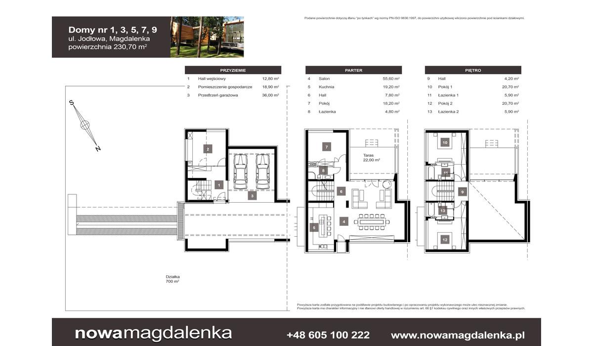 Dom w inwestycji Nowa Magdalenka, Magdalenka, 231 m² | Morizon.pl | 2212