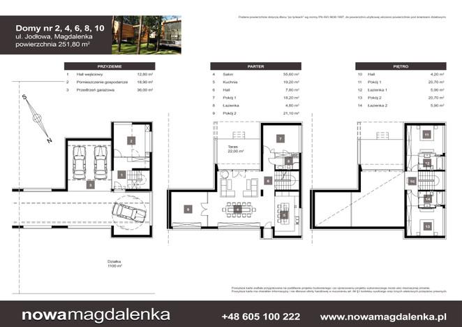 Dom w inwestycji Nowa Magdalenka, Magdalenka, 252 m²   Morizon.pl   2213