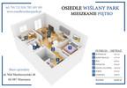 Mieszkanie w inwestycji Osiedle Wiślany Park, Warszawa, 64 m² | Morizon.pl | 5145 nr2