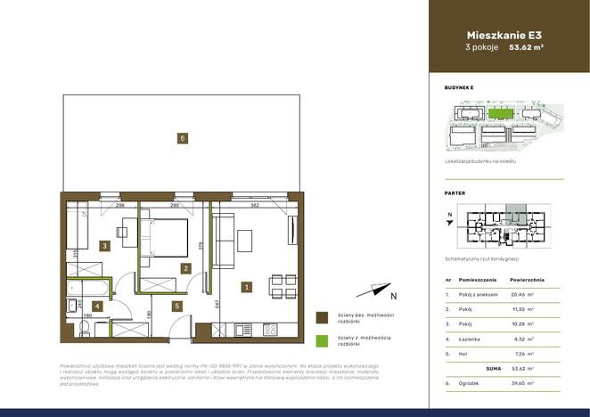Mieszkanie w inwestycji OSIEDLE PRZEDWIOŚNIE, Warszawa, 54 m² | Morizon.pl | 3563