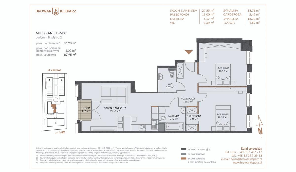 Mieszkanie w inwestycji Browar Kleparz, Kraków, 88 m² | Morizon.pl | 5959