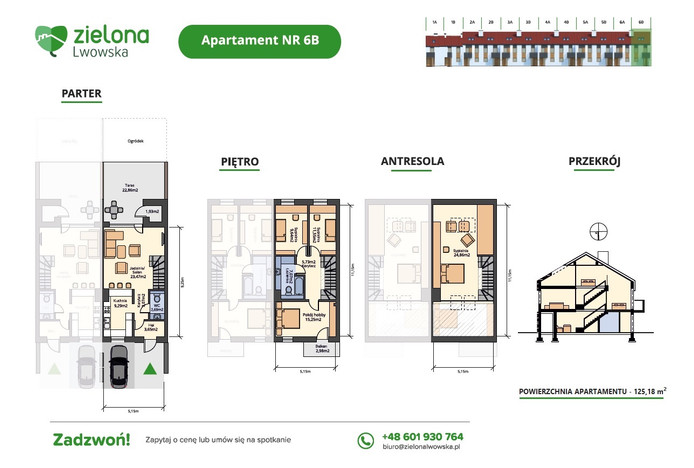 Dom w inwestycji Zielona Lwowska, Rzeszów, 125 m² | Morizon.pl | 1897