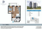 Mieszkanie w inwestycji Panorama Park, Białystok, 47 m² | Morizon.pl | 1372 nr2
