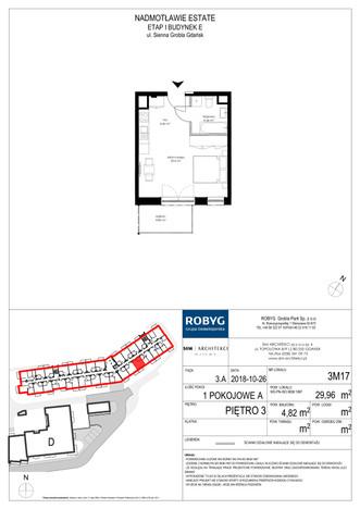 Mieszkanie w inwestycji Nadmotławie Estate, Gdańsk, 30 m² | Morizon.pl | 1985
