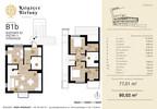 Mieszkanie w inwestycji Książęce Bielany, Kraków, 80 m²   Morizon.pl   8334 nr2