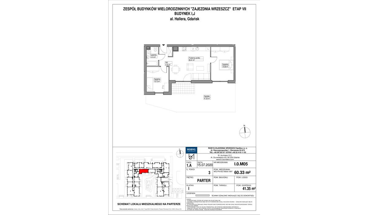 Mieszkanie w inwestycji Zajezdnia Wrzeszcz, Gdańsk, 60 m² | Morizon.pl | 2278