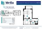 Mieszkanie w inwestycji Melia Apartamenty II, Łódź, 45 m² | Morizon.pl | 6194 nr2