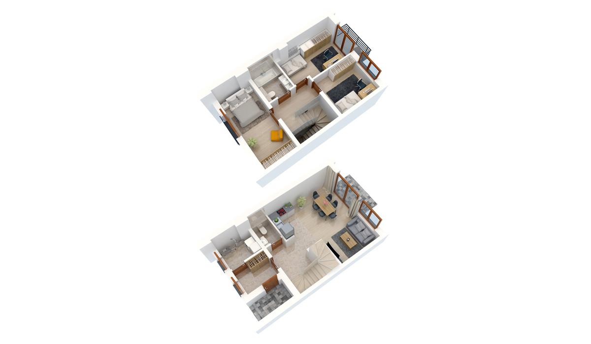 Dom w inwestycji Zielona Aleja, Radzymin (gm.), 90 m² | Morizon.pl | 3506