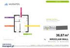 Mieszkanie w inwestycji Murapol Zielona Toskania, Wrocław, 37 m² | Morizon.pl | 7053 nr2