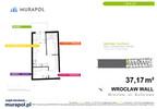 Mieszkanie w inwestycji Murapol Zielona Toskania, Wrocław, 37 m² | Morizon.pl | 7177 nr2