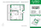 Mieszkanie w inwestycji TRIOKraków, Kraków, 50 m² | Morizon.pl | 1101 nr3