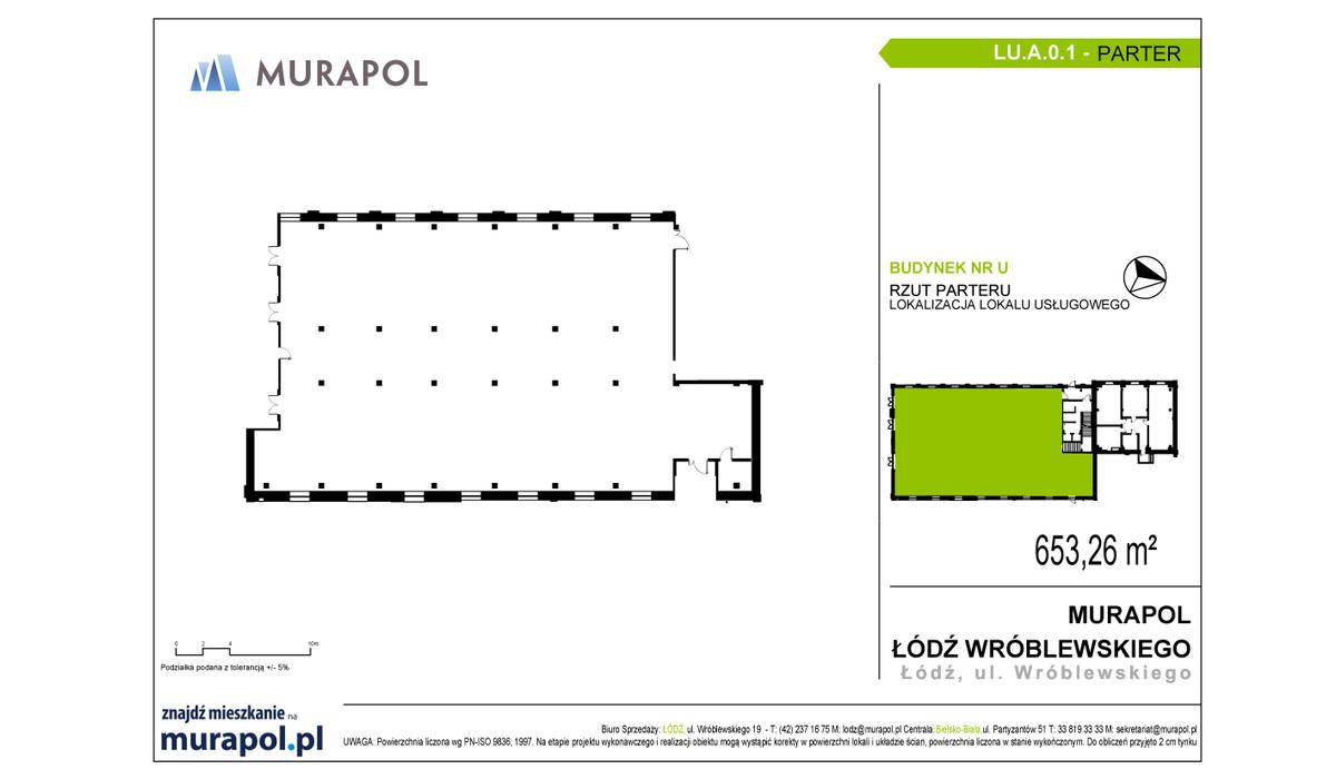 Komercyjne w inwestycji Nowa Przędzalnia - lokale usługowe, Łódź, 653 m² | Morizon.pl | 1053