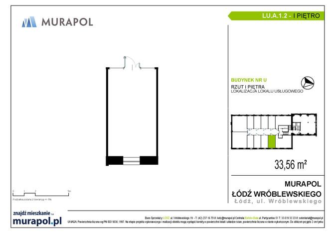 Komercyjne w inwestycji Nowa Przędzalnia - lokale usługowe, Łódź, 34 m²   Morizon.pl   1059