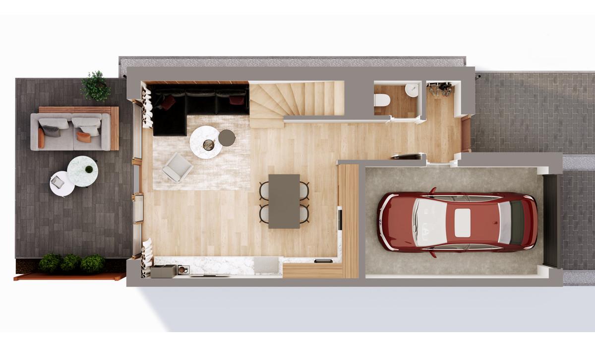 Mieszkanie w inwestycji Chmielowice Apartamenty, Chmielowice, 103 m² | Morizon.pl | 2347