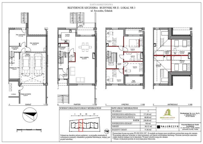 Dom w inwestycji Rezydencje Szczodra, Gdańsk, 240 m²   Morizon.pl   9467