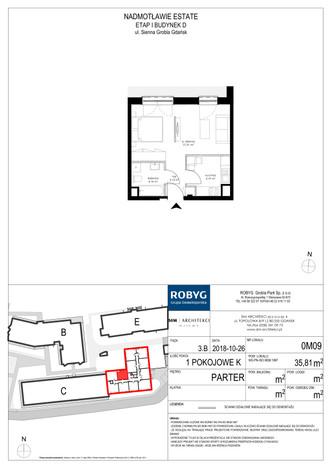 Mieszkanie w inwestycji Nadmotławie Estate, Gdańsk, 36 m² | Morizon.pl | 4224