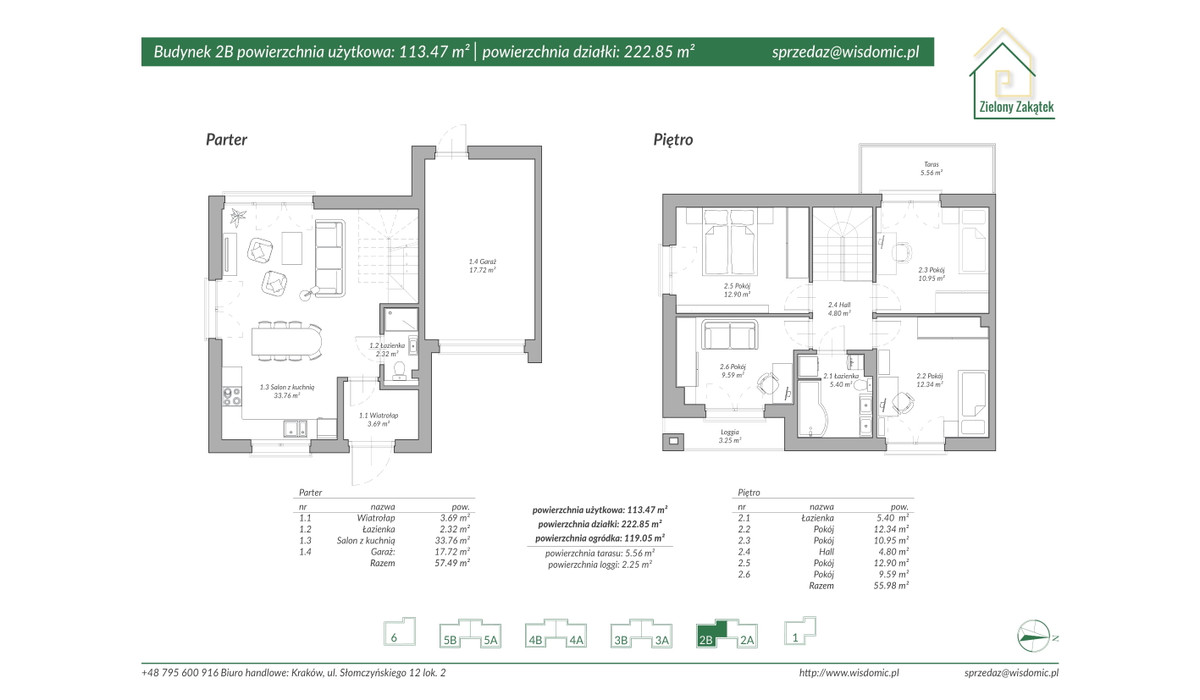 Dom w inwestycji ZIELONY ZAKĄTEK, Kraków, 117 m²   Morizon.pl   2887