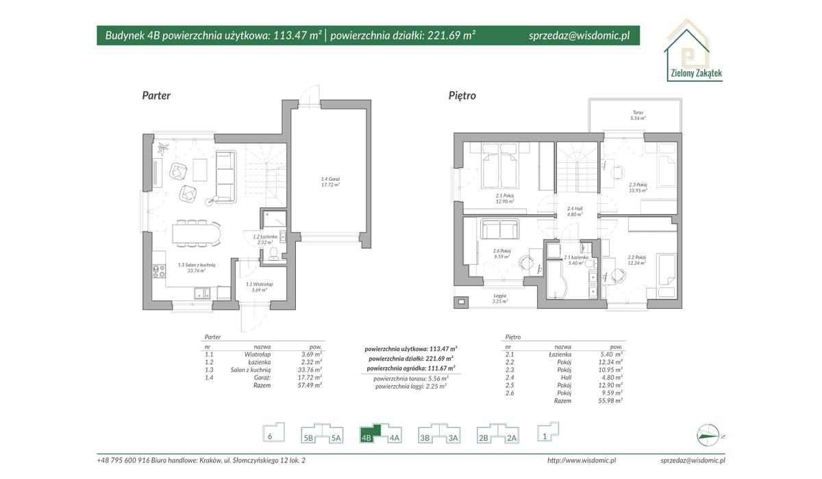 Dom w inwestycji ZIELONY ZAKĄTEK, Kraków, 117 m²   Morizon.pl   2892