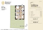 Mieszkanie w inwestycji Książęce Bielany, Kraków, 61 m²   Morizon.pl   8344 nr2