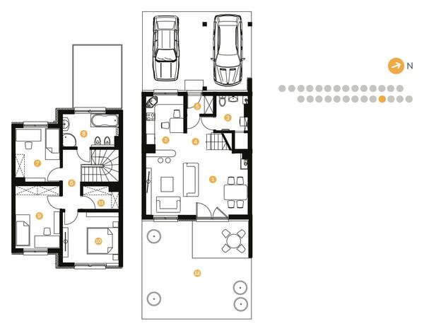 Dom w inwestycji Bingo Home, Wilkszyn, 100 m² | Morizon.pl | 3044