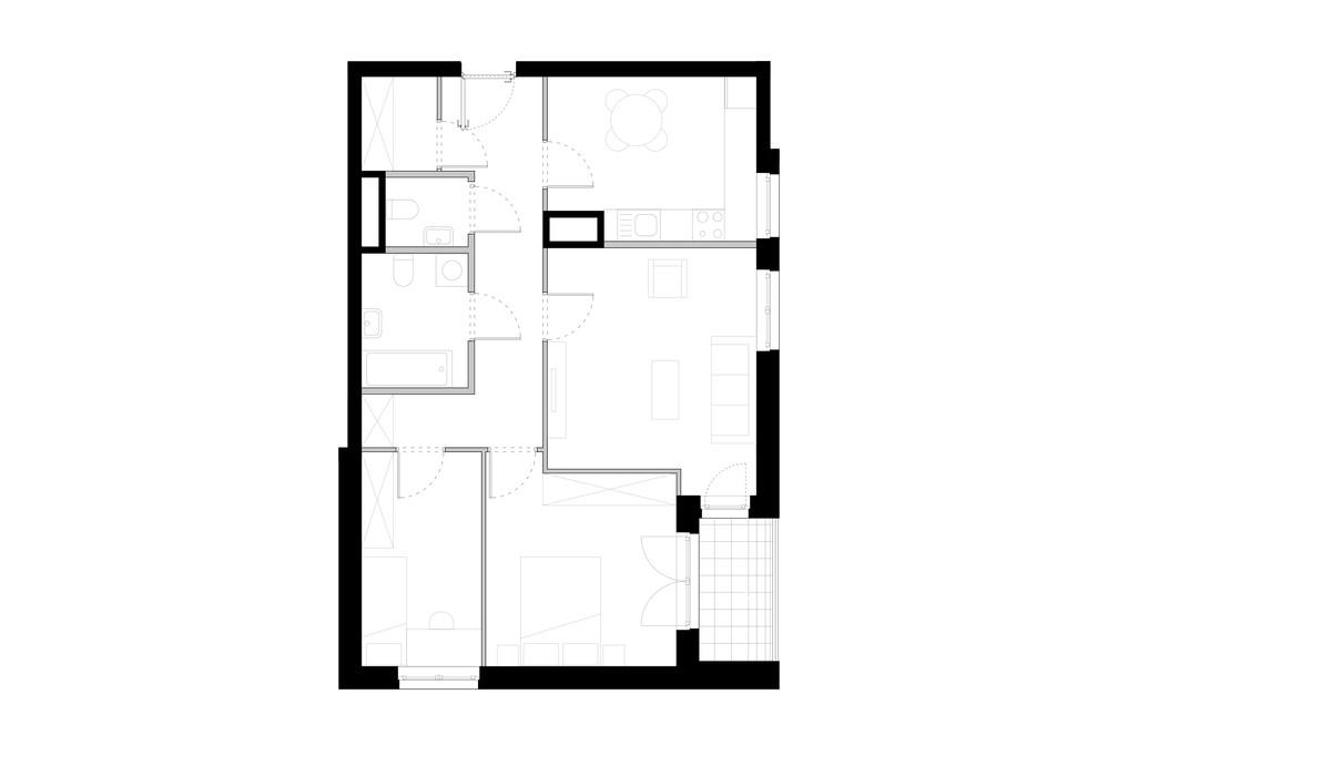 Mieszkanie w inwestycji ZAKĄTEK CYBISA, Warszawa, 75 m²   Morizon.pl   4199