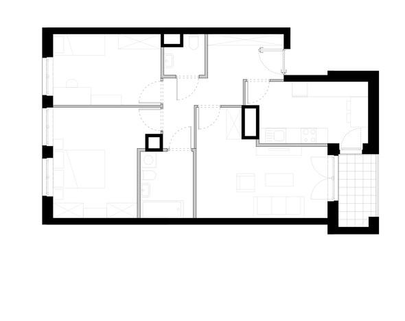 Mieszkanie w inwestycji ZAKĄTEK CYBISA, Warszawa, 78 m² | Morizon.pl | 4257