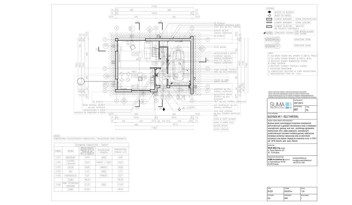 Dom w inwestycji dom130+, Zielonki, 130 m² | Morizon.pl | 8482