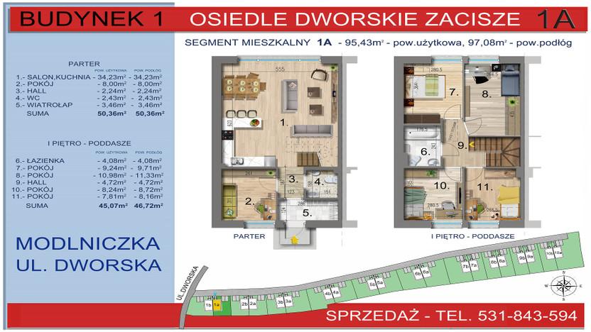 Dom w inwestycji Osiedle Dworskie Zacisze, Modlniczka, 95 m² | Morizon.pl | 3742