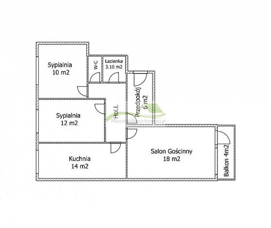 Morizon WP ogłoszenia | Mieszkanie na sprzedaż, Wrocław Nowy Dwór, 69 m² | 1471
