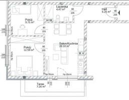 Morizon WP ogłoszenia | Mieszkanie na sprzedaż, Tychy Śródmieście, 53 m² | 7400
